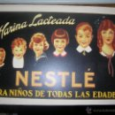 Carteles Publicitarios: CARTEL PUBLICITARIO HARINA LACTEADA NESTLE PARA NIÑOS PARA TODAS LAS EDADES MD 42 X 30 CM. Lote 50278186