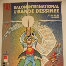 Carteles Publicitarios: CARTEL ``SALON INTERNATIONAL DE LA BANDE DESSINEE´´ ANGOULEME 1992. Lote 50701756