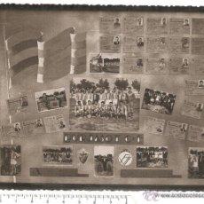 Carteles Publicitarios: ANTIGUA FOTO DE CARTEL CAMPEON PRIMAVERA 1956 57 FUTBOL BURJASOT VALENCIA TODOS LOS COMPONENTES. Lote 51107160