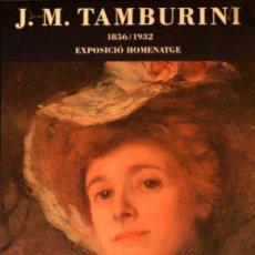 Carteles Publicitarios: CARTEL J.M. TAMBURINI. 1989. BARCELONA. Lote 52978440