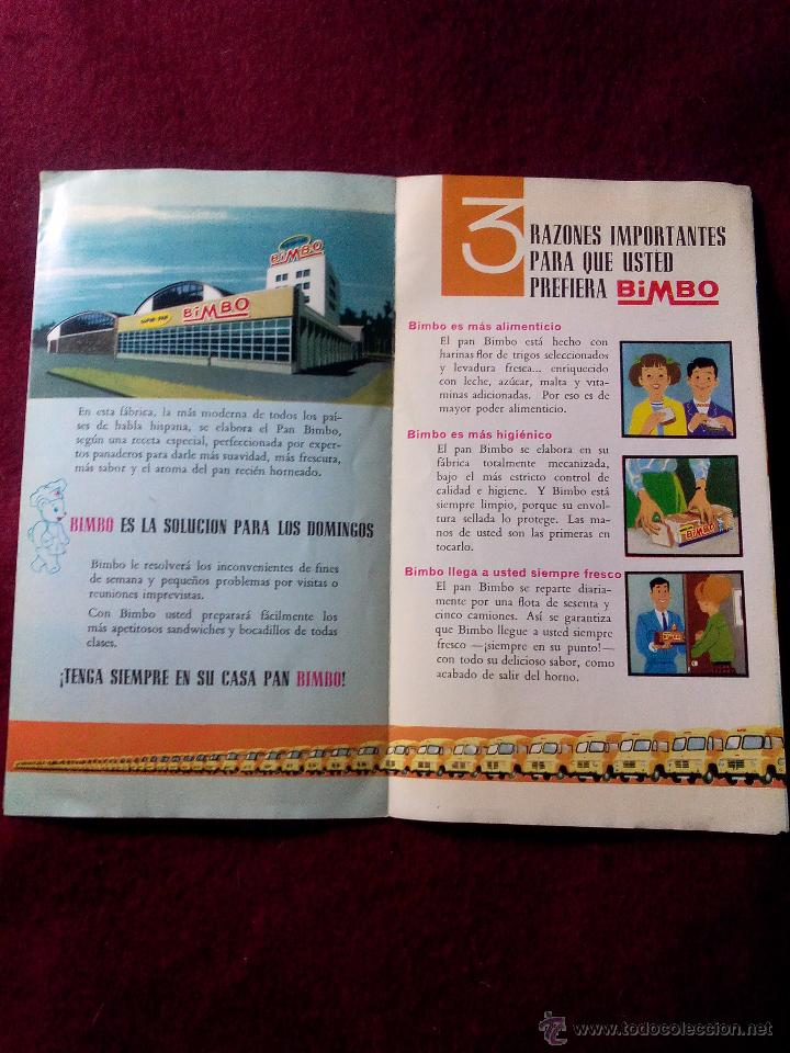 Bimbo  - folleto explicativo del pan de molde b - Sold