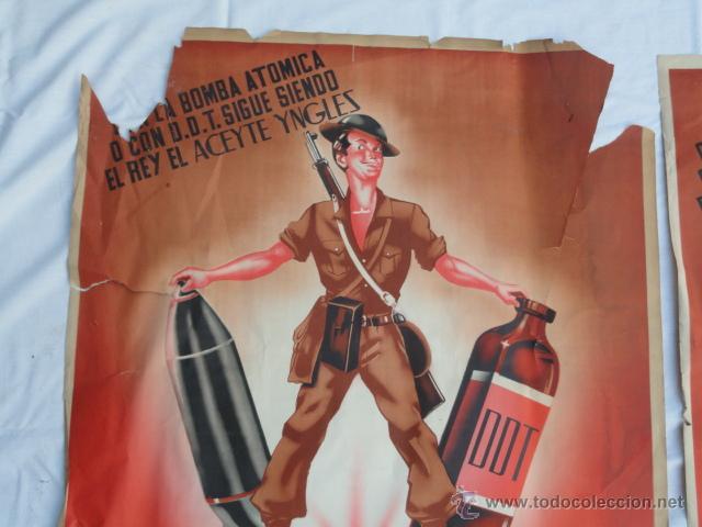 Antiguos carteles publicitarios aceyte yngles vendido en subasta 53247377 - Carteles publicitarios originales ...