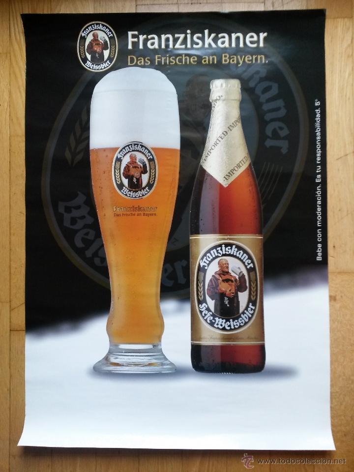 Cartel publicitario de cerveza alemana franzisk comprar - Carteles publicitarios antiguos ...