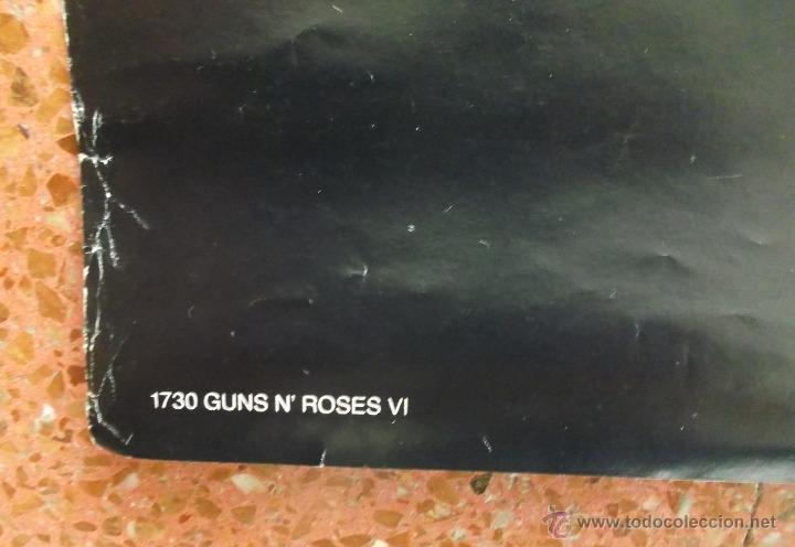 Carteles Publicitarios: POSTER GIGANTE - GUNS N¨ROSES - CARTER CALAVERA SOMBRERO DE COPA. - Foto 8 - 53811773
