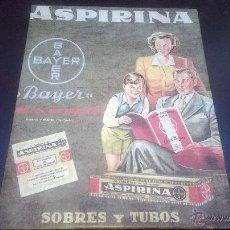 Carteles Publicitarios: CUADRO ASPIRINA BAYER. Lote 54545274