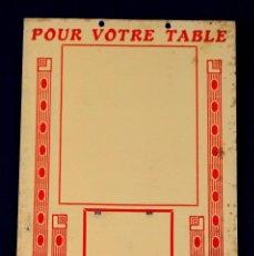 Carteles Publicitarios: ANTIGUO CARTEL DE VINO-VIN. BADRE&DEWE.VINS EN GROS. 1940. ORIGINAL. LICOR-CHAMPAGNE. LILLE- FRANCIA. Lote 55050663