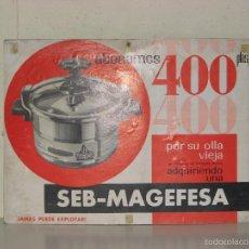 Affiches Publicitaires: CARTEL PUBLICITARIO MAGEFESA. Lote 56614587