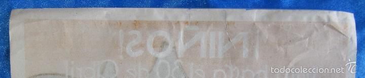 Carteles Publicitarios: CARTEL ANUNCIO CHOCOLATES CHOCOLATE NELIA. TIP Y LIT CARCELLER. BARCELONA. 1920/30. - Foto 5 - 56896254