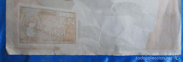 Carteles Publicitarios: CARTEL ANUNCIO CHOCOLATES CHOCOLATE NELIA. TIP Y LIT CARCELLER. BARCELONA. 1920/30. - Foto 6 - 56896254