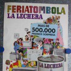 Affiches Publicitaires: CARTEL PUBLICIDAD LA LECHERA - NESTLE - AÑOS 70. Lote 118776895