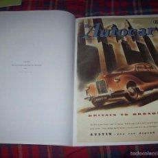 Carteles Publicitarios: ARTLINES POSTER COLLECTION (42 CM X 30 CM ).MOTORING. 20 POSTERS VINTAGE DE AUTOMOVILISMO.. Lote 57418736