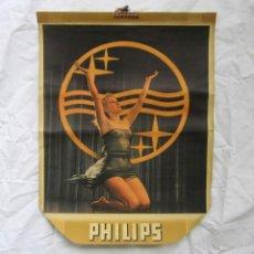 Carteles Publicitarios: ANTIGUO CARTEL PUBLICITARIO DE PHILIPS PIN UP. Lote 57680375