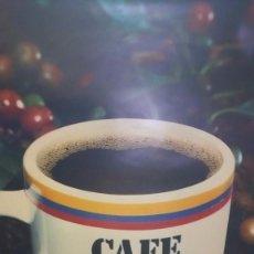 Affiches Publicitaires: CAFÉ DE COLOMBIA AÑOS 70 MEDIDAS : 60 X 49. Lote 117252392