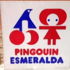 Carteles Publicitarios: CARTEL PUBLICIDAD LANAS ESMERALDA ANTIGUO VINTAGE. Lote 58096998