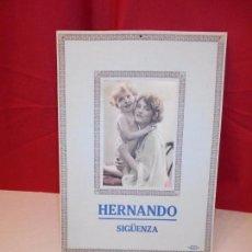 Carteles Publicitarios: HERNANDO - SIGÜENZA - MIDE 24,5 X 35 CM. Lote 61760880