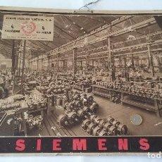 Carteles Publicitarios: CARTEL DE SIEMENS. CORNELLÁ. 1935. Lote 73463331