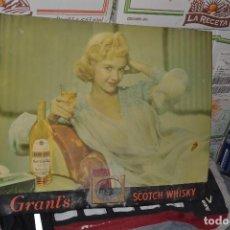Carteles Publicitarios: CARTEL GRANTS SCOTCH WHISKY. Lote 74716711
