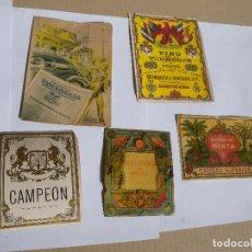 Carteles Publicitarios: CINCO CARTELES PUBLICITARIOS. Lote 76758731