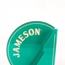 Carteles Publicitarios: CARTEL PUBLICITARIO - EXPOSITOR LUMINOSO - JAMESON - IRISH WHISKEY - CON CAJA - NUEVO A ESTRENAR!!!. Lote 76869331