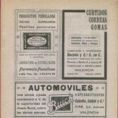 Carteles Publicitarios: CARTELES PUBLICITARIOS Nº5 DE VARIOS PAISES MAYORMENTE DE VALENCIA 8 PAGINAS . Lote 77288017