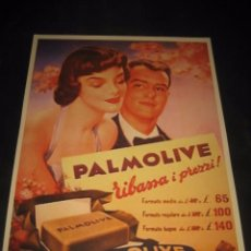 Carteles Publicitarios: CARTEL PUBLICITARIO JABON PALMOLIVE. Lote 77840433