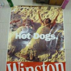 Carteles Publicitarios: POSTER O CARTEL PUBLICITAD DE TABACOS WINSTON. Lote 79974217