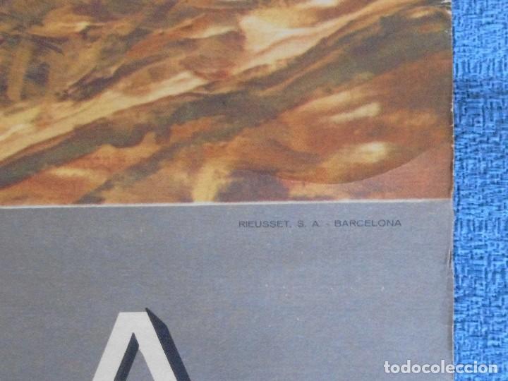 Carteles Publicitarios: CARTEL DE CALENDARIO UNIÓN ESPAÑOLA DE EXPLOSIVOS 1961, ILUSTRADO POR JESÚS UNTURBE, EN LAS ERAS - Foto 3 - 81266980