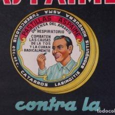Carteles Publicitarios: CARTEL PASTILLAS ASPAIME, AÑOS 40. Lote 81659652