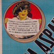 Carteles Publicitarios: CARTEL POMADA ASPAIME, AÑOS 60. Lote 81660112