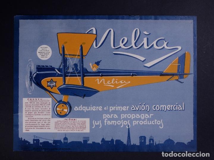CARTEL NELIA, BARCELONA AÑOS 30 (Coleccionismo - Carteles Gran Formato - Carteles Publicitarios)