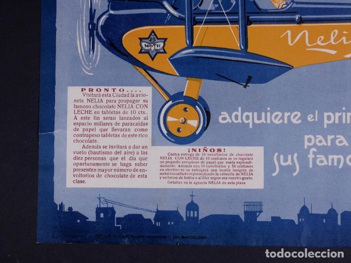 Carteles Publicitarios: CARTEL NELIA, BARCELONA AÑOS 30 - Foto 2 - 81662692