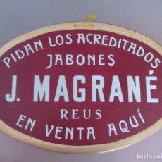 Carteles Publicitarios: PROPAGANDA DE JABONES J MAGRANE DE REUS. Lote 99088162