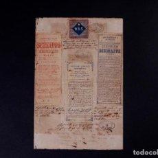 Carteles Publicitarios: MARCAS Y PATENTES REPUBLICA DE CUBA, SCHIEDAM SCHNAPPS AROMATICO, 1888. Lote 87265776