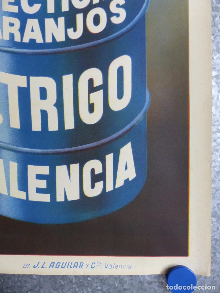 Carteles Publicitarios: INSECTICIDA NARANJOS DR. TRIGO - VALENCIA - AÑOS 1940 - Foto 2 - 130179700