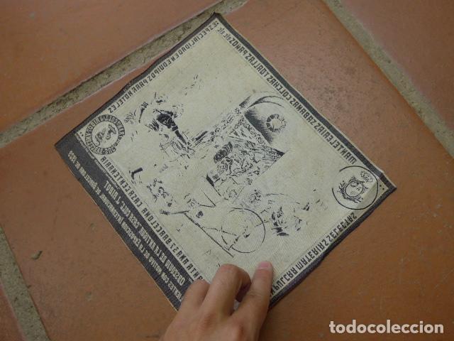 Carteles Publicitarios: Antiguo tapiz de publicidad de casa coll Ribot barcelona, de exposicion internacional 1929 - Foto 6 - 92280055