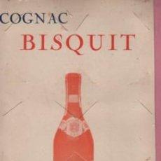 Carteles Publicitarios: CARTEL COGNAC COÑAC BISQUIT - DUBOUCHÉ AND COMPANY JARNAC DE FRANCIA FRANCE. Lote 95613467