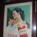 Carteles Publicitarios: (F.1) CARTEL PUBLICITARIO DE WISTON M: 41 X 30 CM. Lote 95727043