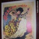 Carteles Publicitarios: (F.1) CARTEL PUBLICITARIO DE ALCAZAR D´ÉTÉ LA BELLE OTERO M: 41 X 30 CM. Lote 95731232