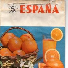 Carteles Publicitarios: BOLSA DE NARANJAS DEL SPA. Lote 99858895