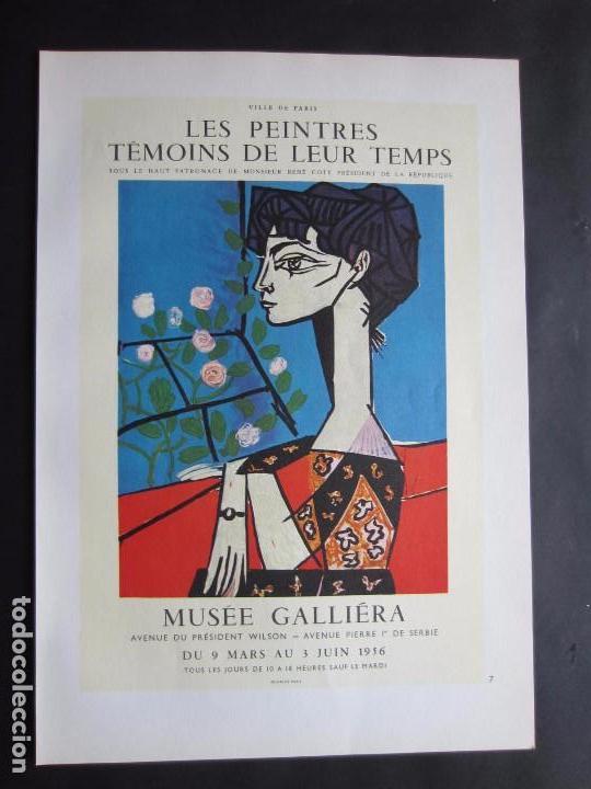 1963 museo galeria paris exposici n de pablo p vendido en subasta 101006631 - Carteles publicitarios originales ...
