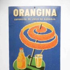 Carteles Publicitarios: CARTEL DISPLAY ANTIGUO PUBLICIDAD ORANGINA DR. TRIGO VALENCIA. Lote 101058439