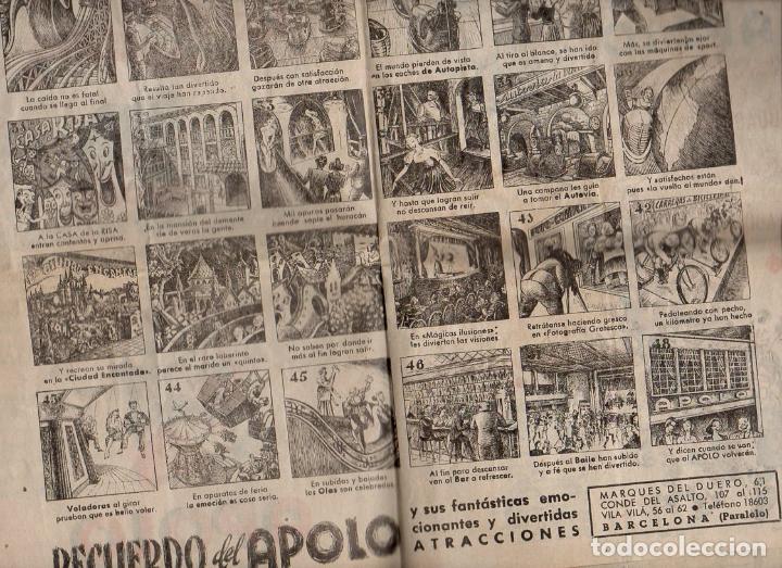 Carteles Publicitarios: AUCA ALELUYA HISTORIETA DIVERTIDA EN EL APOLO VIVIDA (PARQUE DE ATRACCIONES APOLO, BARCELONA) - Foto 2 - 102056863
