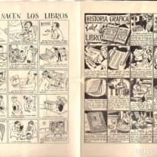 Carteles Publicitarios: AUCA DEL DÍA DEL LIBRO. Lote 103263919