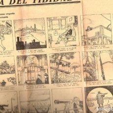 Carteles Publicitarios: AUCA DEL TIBIDABO ILUSTRADA POR JUNCEDA. Lote 103264839