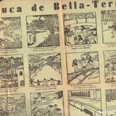 Carteles Publicitarios: AUCA DE BELLA TERRA ILUSTRADA POR CASTANYS. Lote 103264995