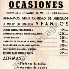 Carteles Publicitarios: CHICLANA DE LA FRONTERA,1973, CARTEL PUBLICITARIO TELESUR215X320MM. Lote 103277491