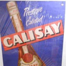 Carteles Publicitarios: CARTEL PUBLICITARIO DEL LICOR CALISAY. CIRCA 1950.. Lote 103279919