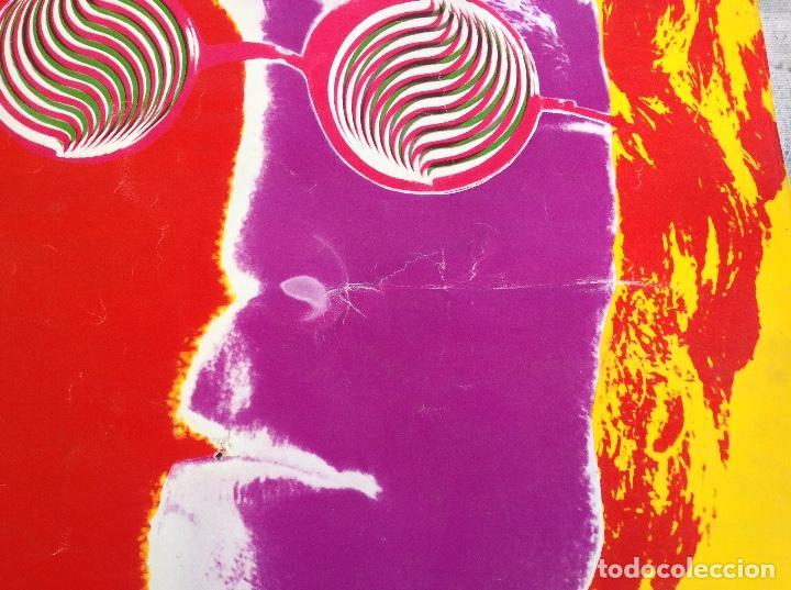 Carteles Publicitarios: CARTEL JOHN LENON THE BEATLES - FOTOGRAFO RICHARD AVEDON - AÑO 1967 - Foto 4 - 104076351