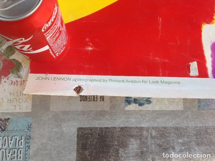 Carteles Publicitarios: CARTEL JOHN LENON THE BEATLES - FOTOGRAFO RICHARD AVEDON - AÑO 1967 - Foto 5 - 104076351