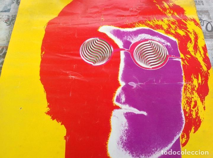 Carteles Publicitarios: CARTEL JOHN LENON THE BEATLES - FOTOGRAFO RICHARD AVEDON - AÑO 1967 - Foto 8 - 104076351